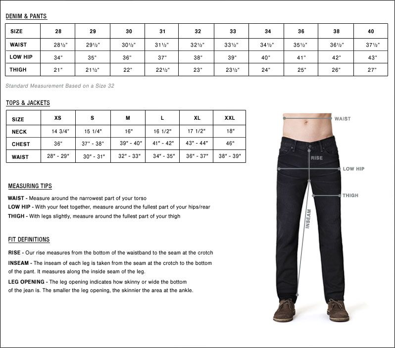 How To Measure Jacket Size Uk