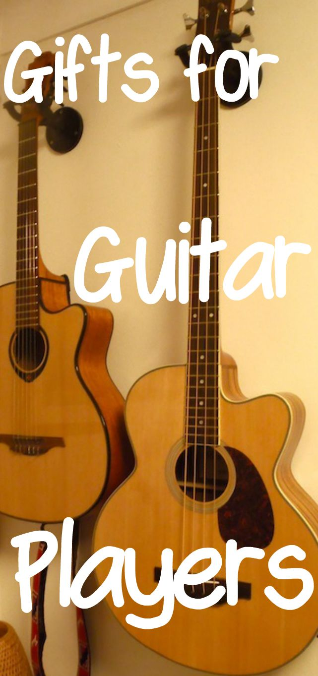 Gifts For Guitar Players Guitar Gifts Cool Gifts