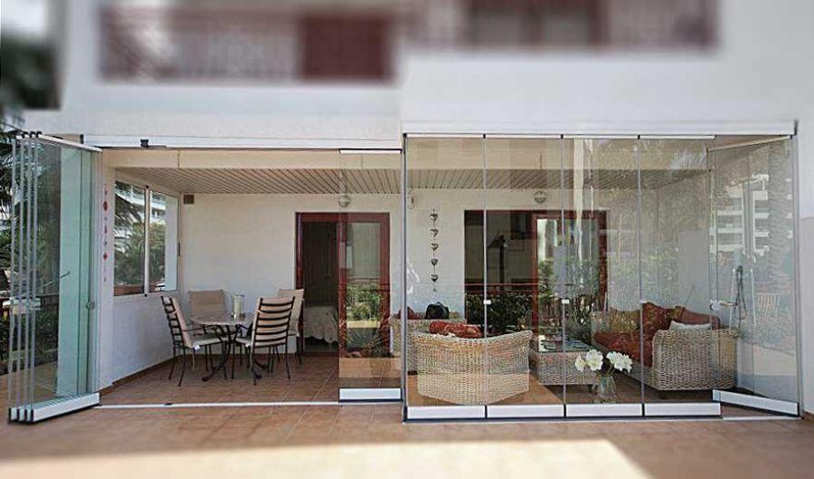 cortinas de cristal terraza