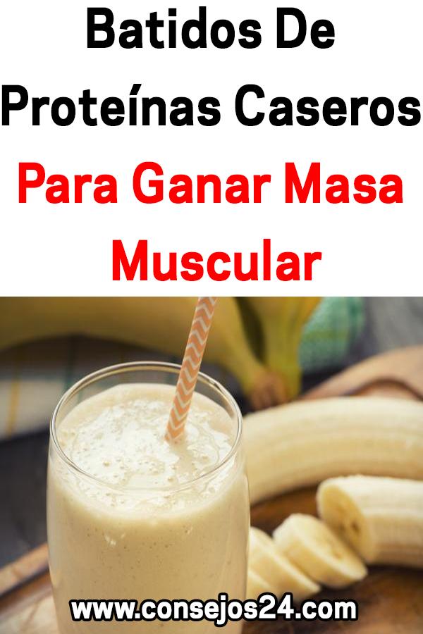 Batidos De Proteínas Caseros Para Ganar Masa Muscular Breakfast Food
