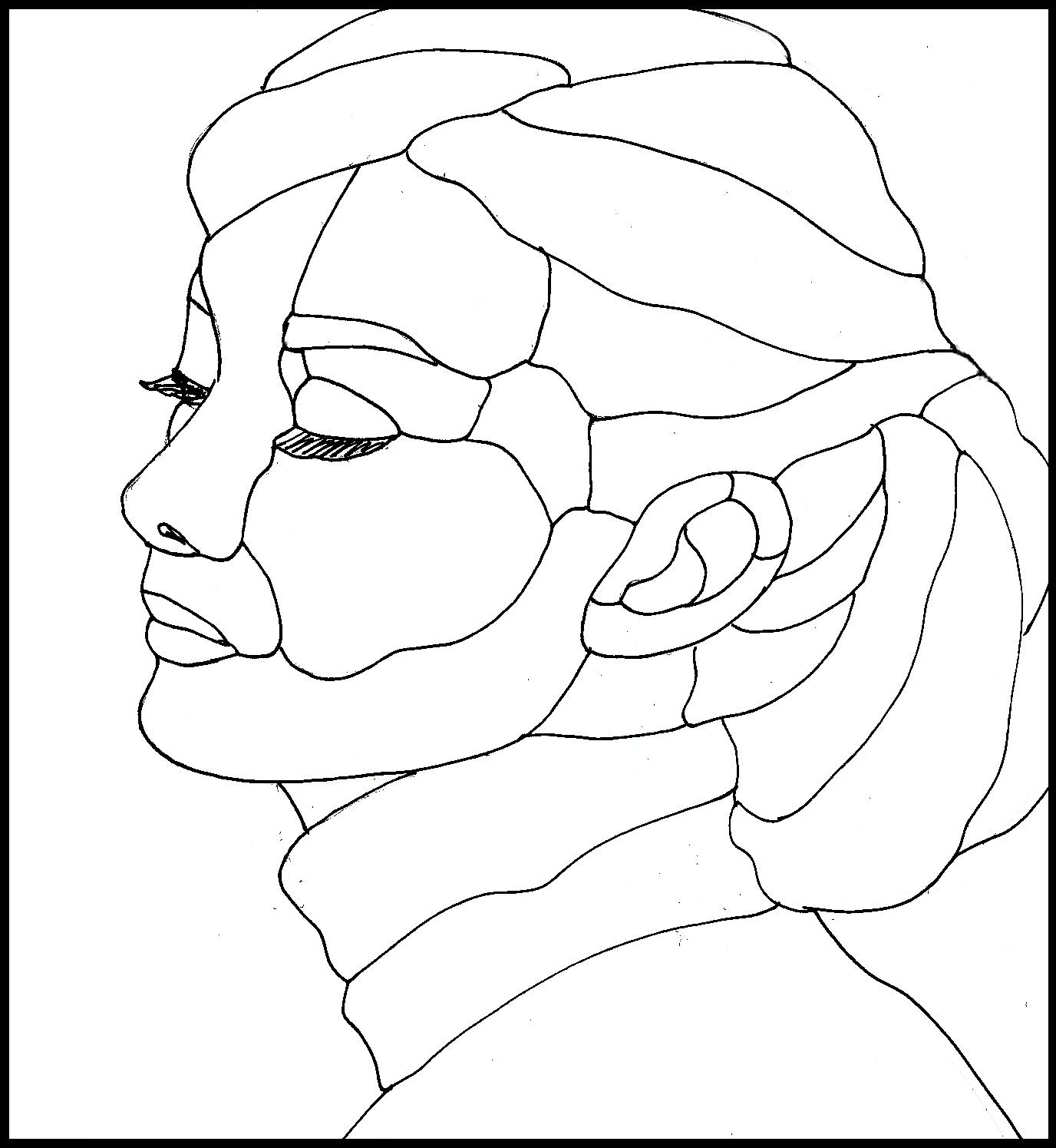 Stained glass patterns audrey hepburn drawing pages