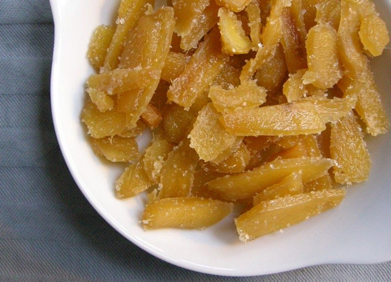 Eerst Koken: Gekonfijte Gember en Ginger Ale