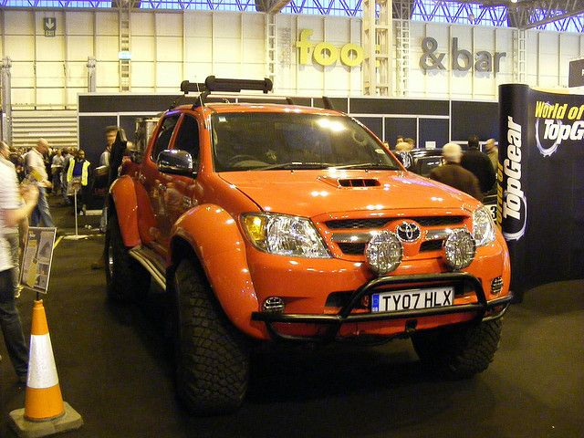 top gear toyota hilux by steven barker57 via flickr toyota hilux top gear toyota pinterest