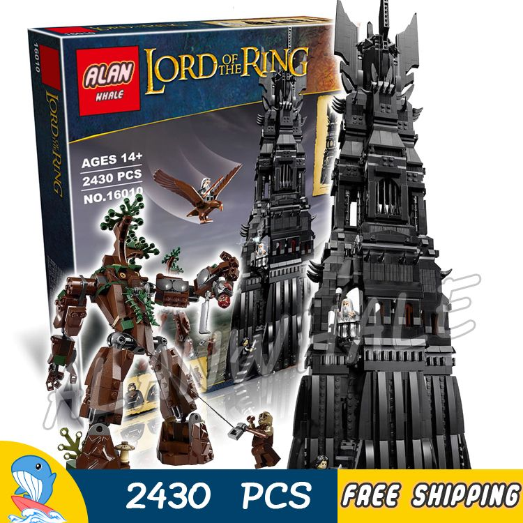 2430pcs Lord Of The Rings Tower Of Orthanc With Images Model