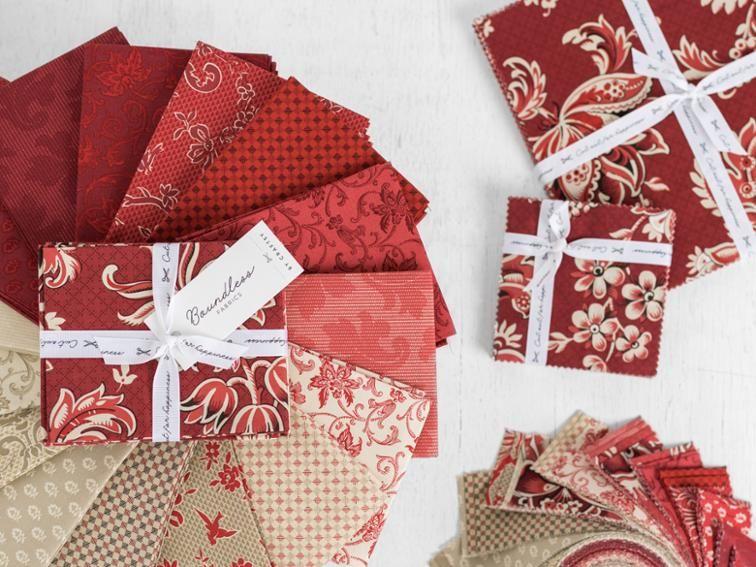 Boundless Ruby Rue Precut Fabric | Precut fabric, Rail ...