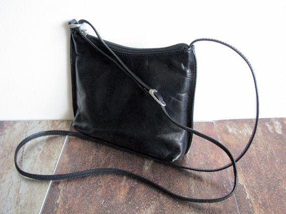 733f47e2e3 Scandinavian Leather shoulder bag BOXCA by VintageButikGita ...