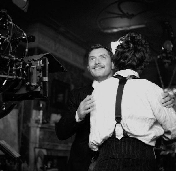 "On set of ""Sherlock Holmes"", Brooklyn, NY, 2009  Brigitte Lacombe"
