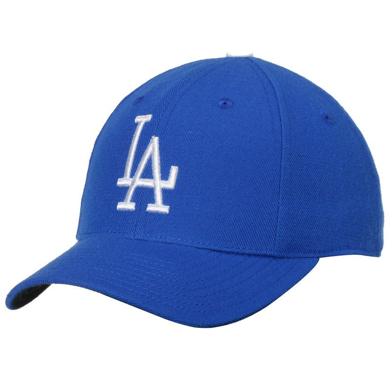 9957631f3ba65 Los Angeles Dodgers American Needle Cooperstown Fitted Hat - Royal ...