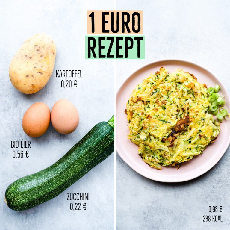 Photo of 3 recipes for 1 € Cheap recipes for losing weight