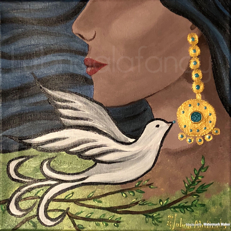 فنانين فن فن عراقي سومريات سومر الفن التشكيلي لوحات فنية