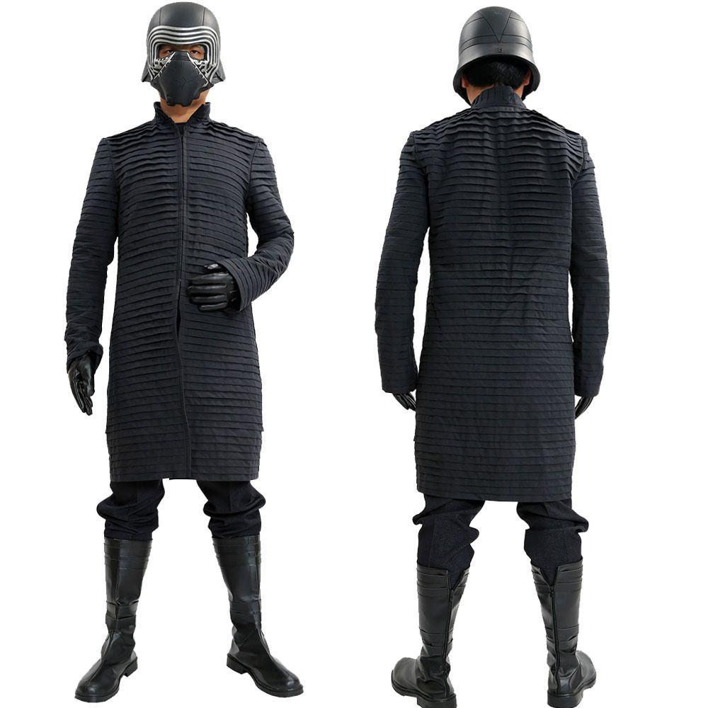 Star Wars The Force Awakens Cosplay Kylo Ren Ben Solo Costume New Episode VII