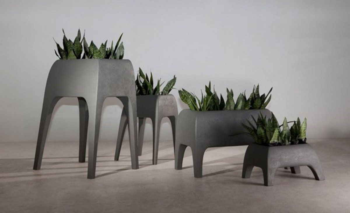 image result for unique modern planters  materos  pinterest - image result for unique modern planters