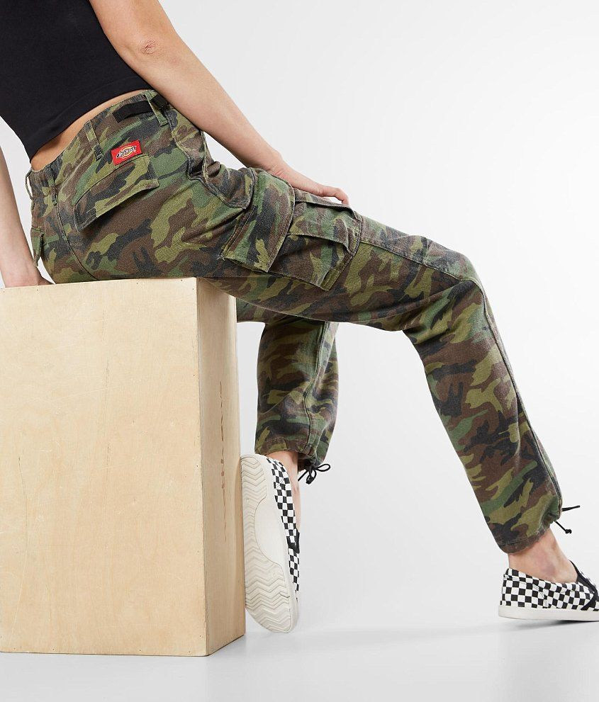 8af8e77a62477 Dickies Camo Utility Pant - Women's Pants in Olive | Buckle | Blame ...