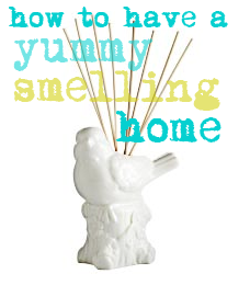 Kandeeland: How To Make Your House Smell Good