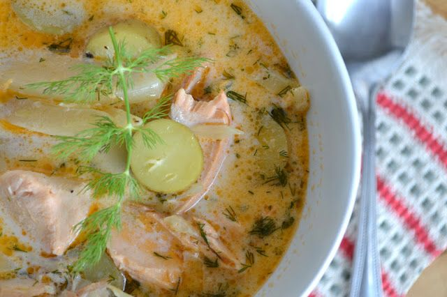 Springtime Salmon and Fennel Chowder by The View from Great Island