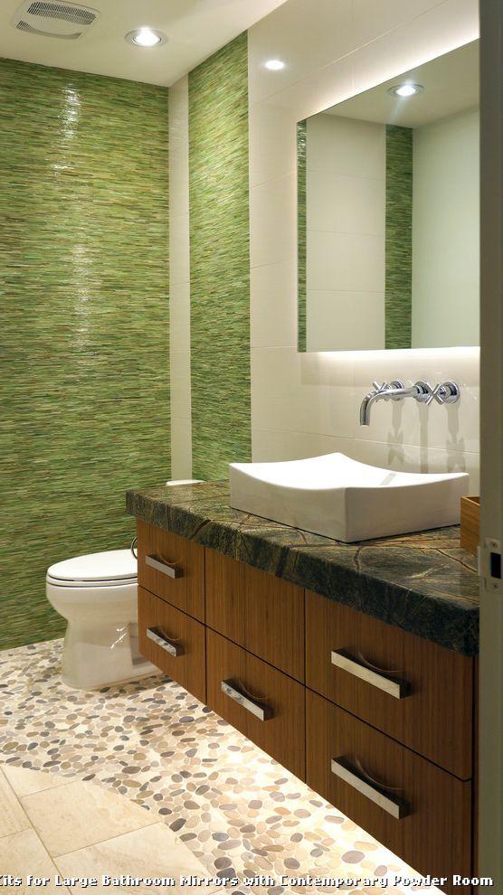 Frame Kits For Large Bathroom Mirrors  Tablecloth  Pinterest Custom Large Bathroom Vanity Mirrors Design Ideas
