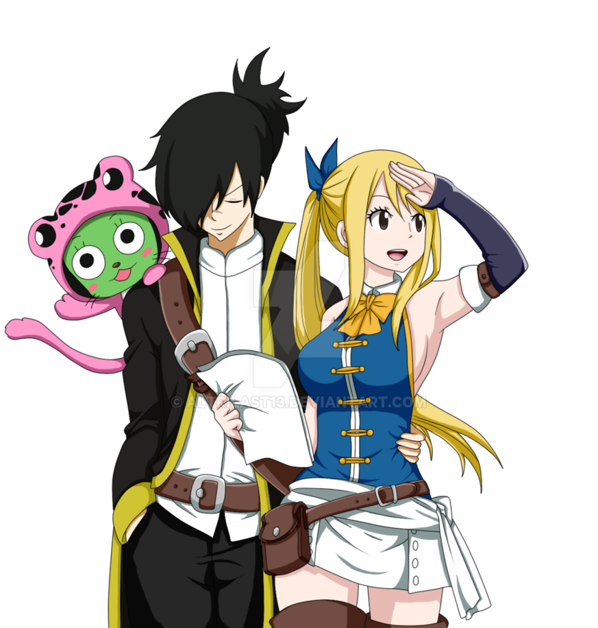 fairy tail rolu rolu by altrilast13 rouge and lucy