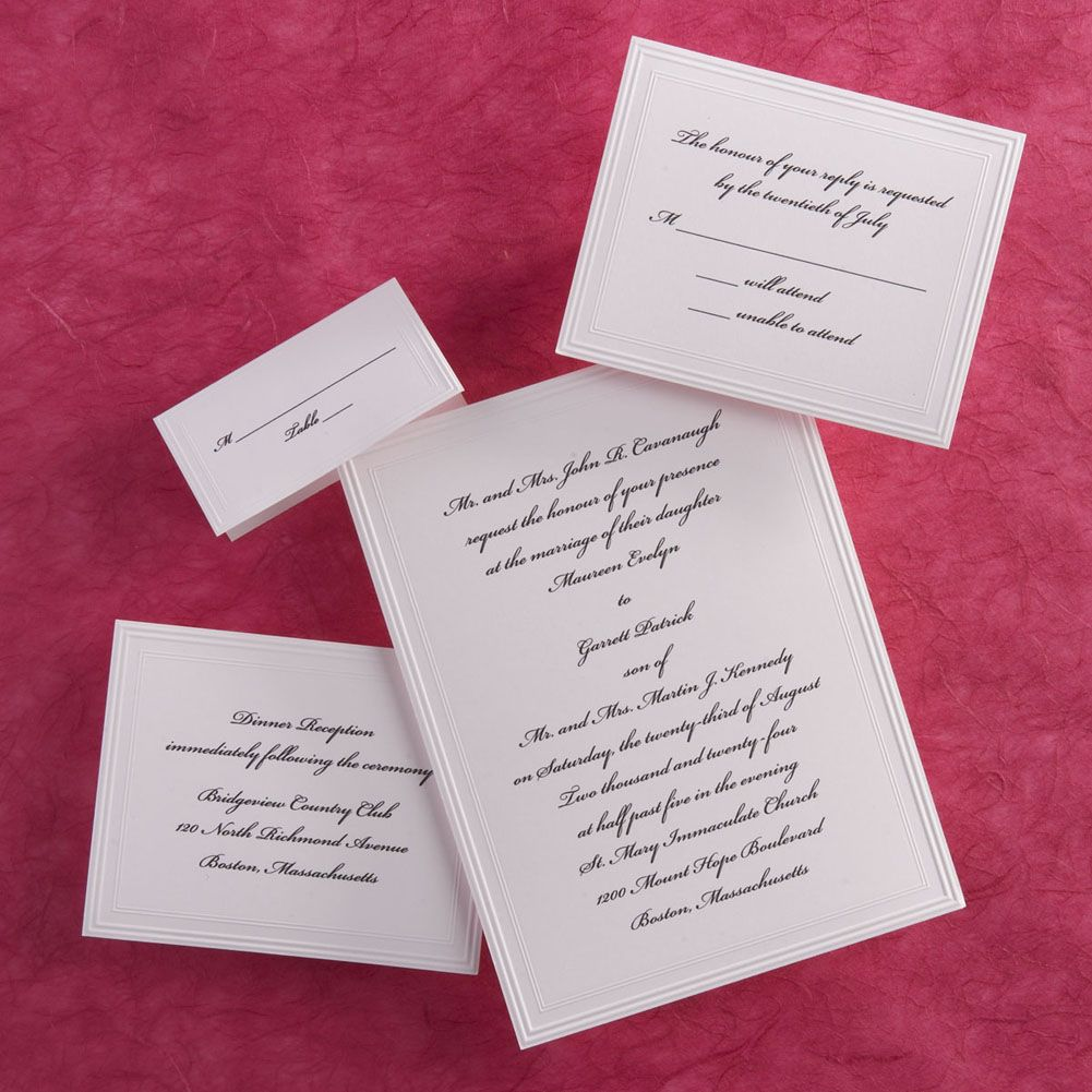 traditional wedding invites | Party Ideas | Pinterest | Wedding ...