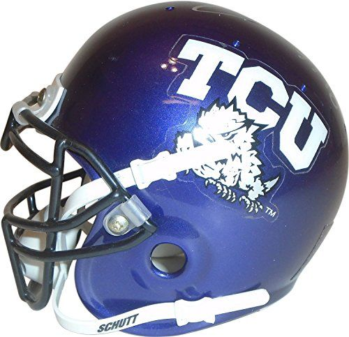 Texas Christian Horned Frogs Signed Football (With images ...