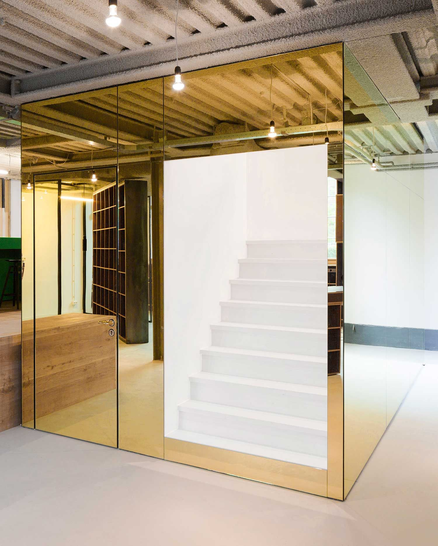 stories on design mealic interiors sid lee office by space encounters yellowtrace