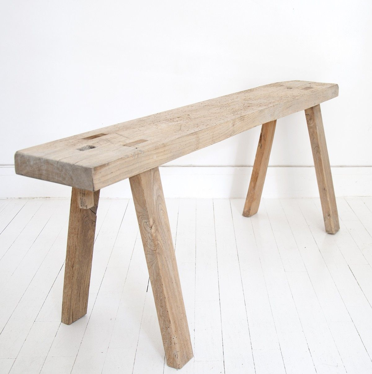 Banc Lucien Bel Ordinaire I Wood Seats I Pinterest  # Banc Bois Naturel