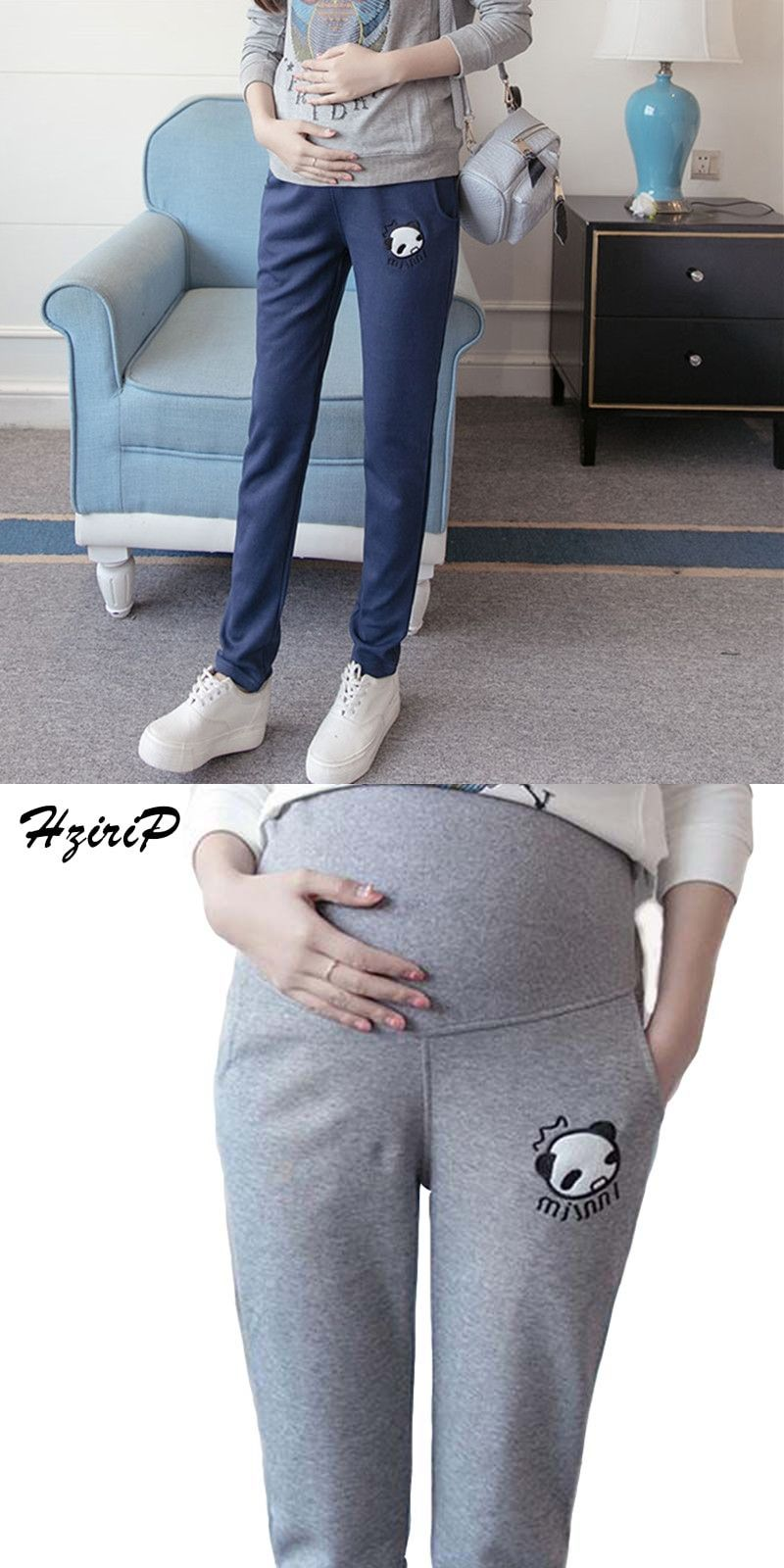 d6587f1f83c Hrizip Casual Maternity Pants for Pregnant Women Maternity Clothes for Summer  2016 Overalls Pregnancy Pants Maternity