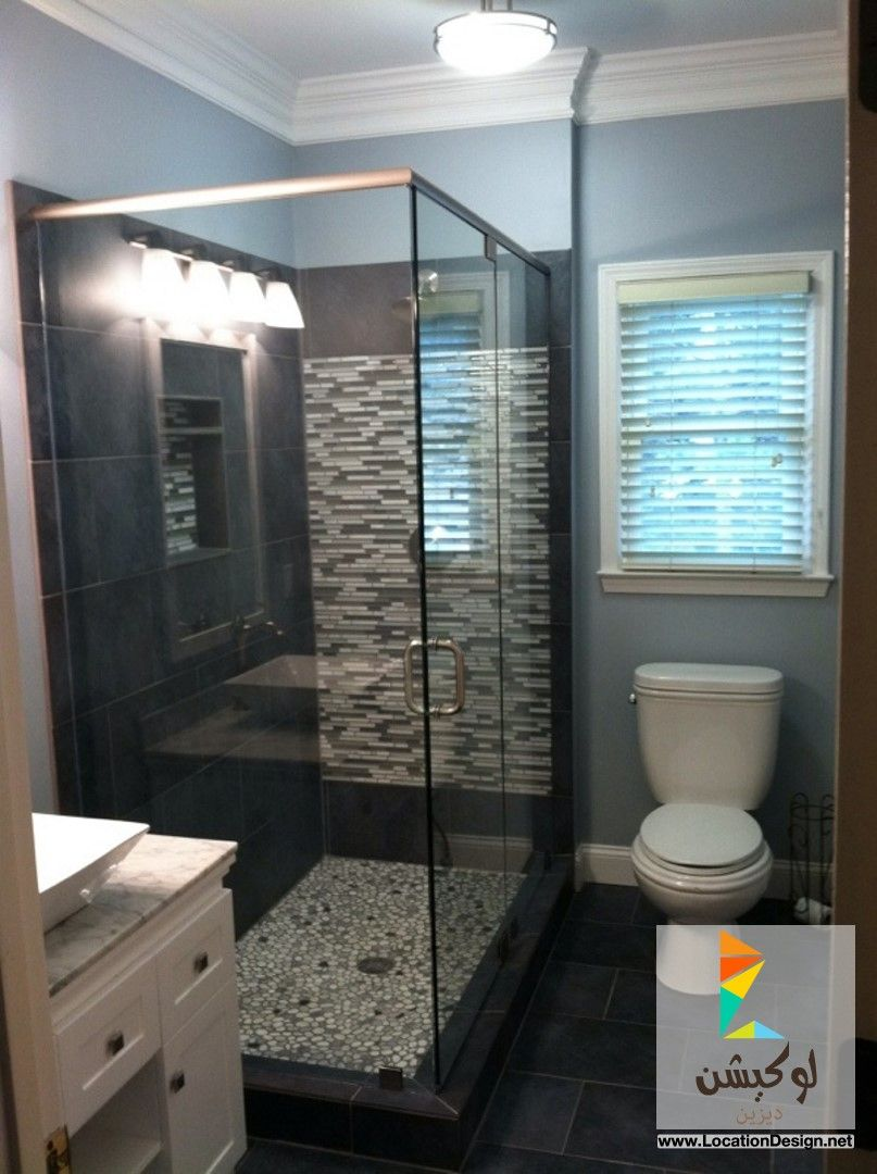 أفضل 10 تصاميم ديكورات حمامات باللون الرمادي Bathroom Makeover Bathroom Sink Design Bathroom Inspiration