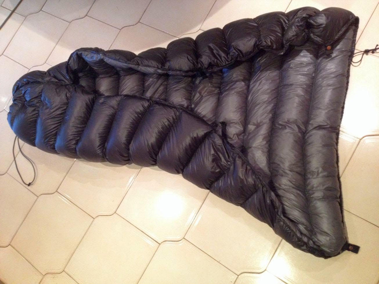 trails and tracks myog down quilt for winter hiking hiking