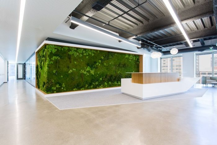 Office Tour Wearable Tech Company Offices San Francisco Pinterest Reception Areas Office