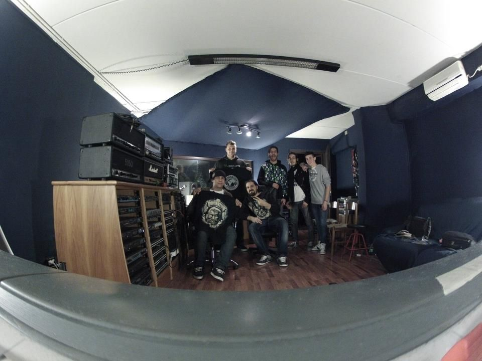Photo with Simone Mularoni at Domination Studio!