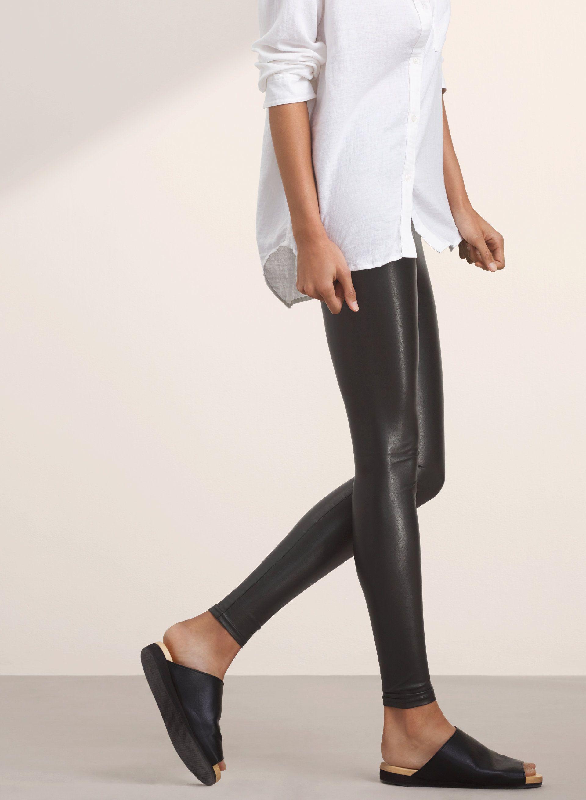 ce8ec002474dd5 Daria pant | Free leggings, Clothes and Fashion. Daria pant. Leather  LeggingsSpring … Aritzia Daria faux ...