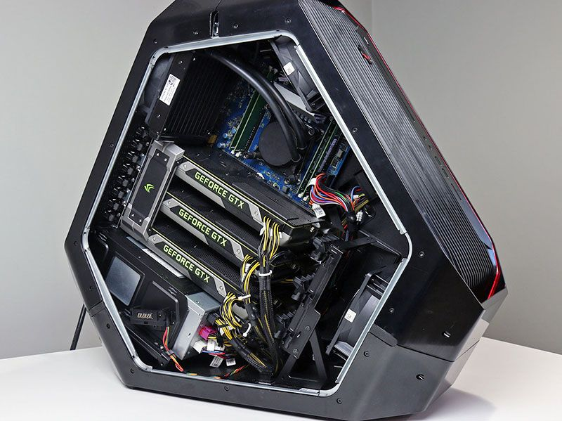 Area 51 Open Computer Case Cool Tech Games To Buy