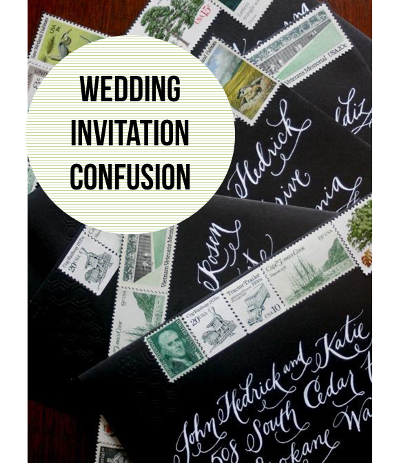 Etiquette Addressing Wedding Invitations: Best 25+ Wedding Invitation Etiquette Ideas On Pinterest