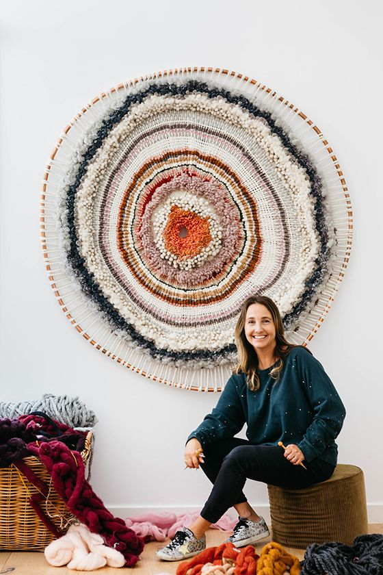 Tammy Kanat - Design Crush #weaving