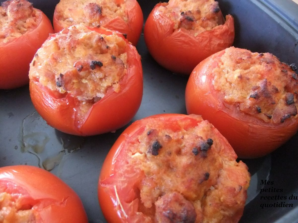 Tomates farcies de mon enfance - Mes petites recettes du ...