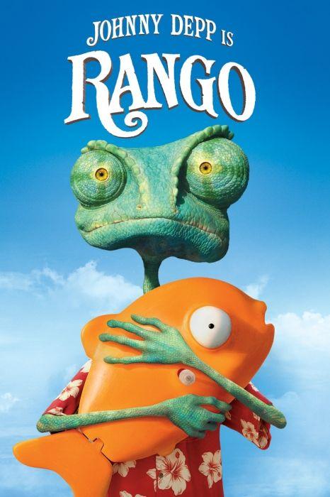 Rango (2011) Movie Poster - Johnny Depp, Timothy Olyphant, Abigail Breslin  #Rango, #2011, #MoviePoster, #Comedy, #GoreVerbinski, #AbigailBreslin, #JohnnyDepp, #Poster, #TimothyOlyphant