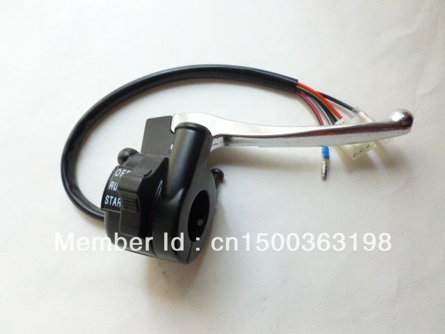 OEM PW PY50 Right Throttle Housing Switch with Lever FOR YAMAHA PW50 PEEWEE LONCIN & JIANSHE PY50