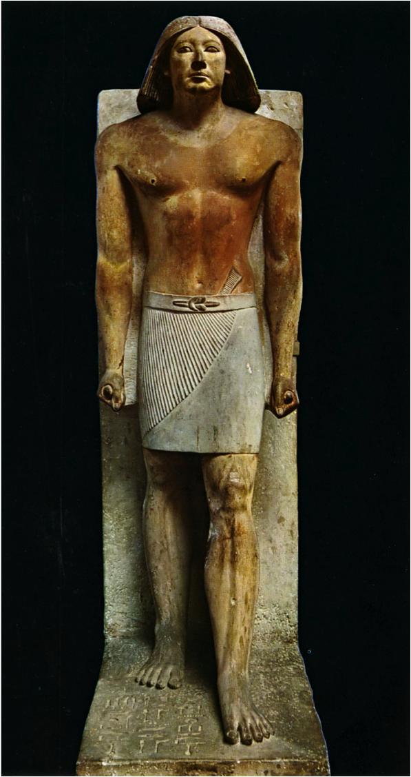 Ranofer statue - ancient Egypt - Egyptian Museum of Cairo