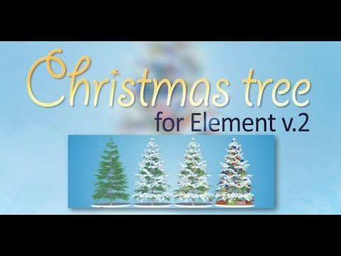 Christmas Tree After Effects Template Christmas Tree Buy Christmas Tree Christmas