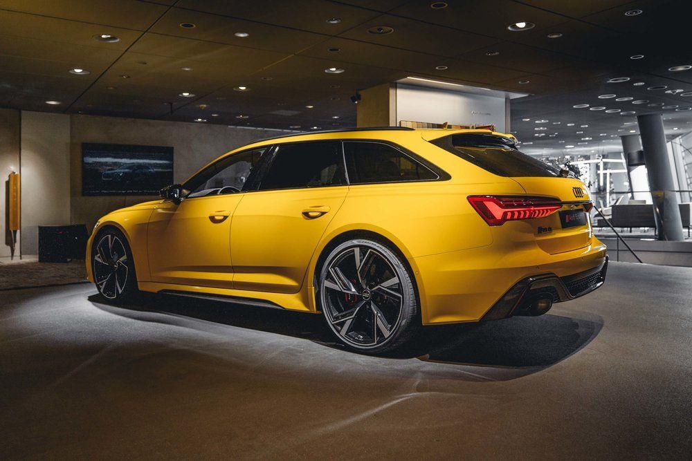 Audi Rs6 Avant C8 2020 Vegasyellow