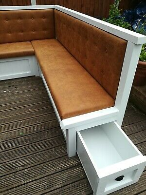 KITCHEN DINING CORNER SEATING BENCH WITH STORAGE  | eBay