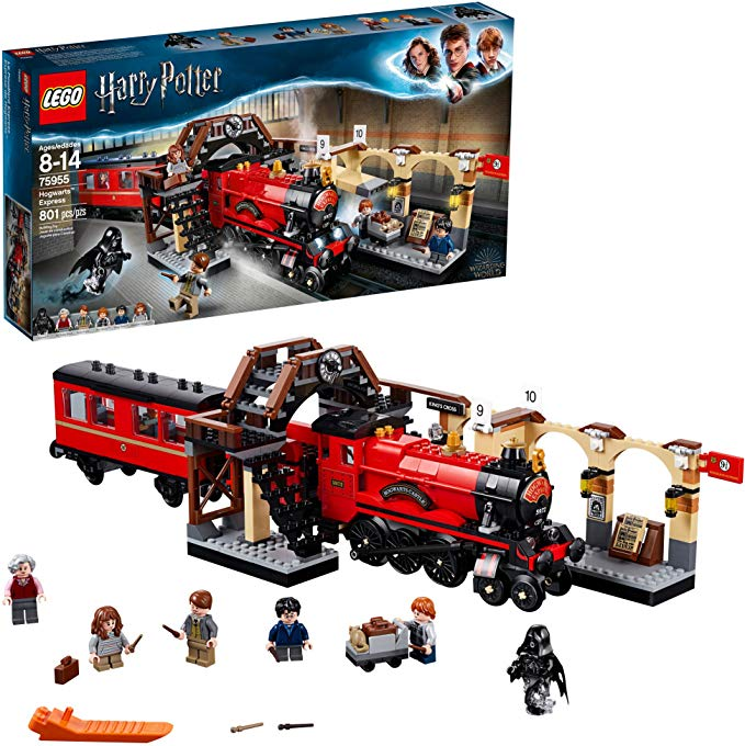 Lego Harry Potter Hogwarts Express 75955 Toy Train Building Set Includes Model Train And Har Lego Hogwarts Lego Harry Potter Harry Potter Lego Sets