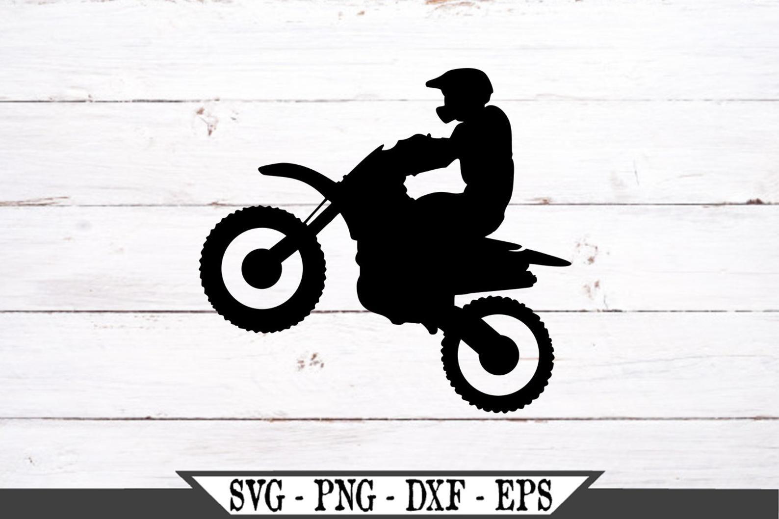 Dirt Bike SVG Racing Sports Vinyl Cutter Cut File For Cricut | Etsy