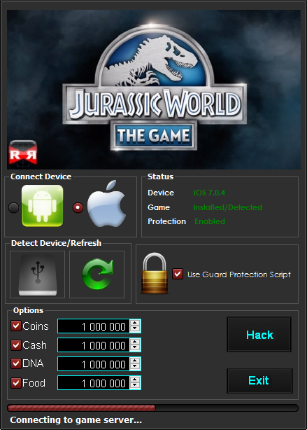Jurassic World The Game Cheat Merken
