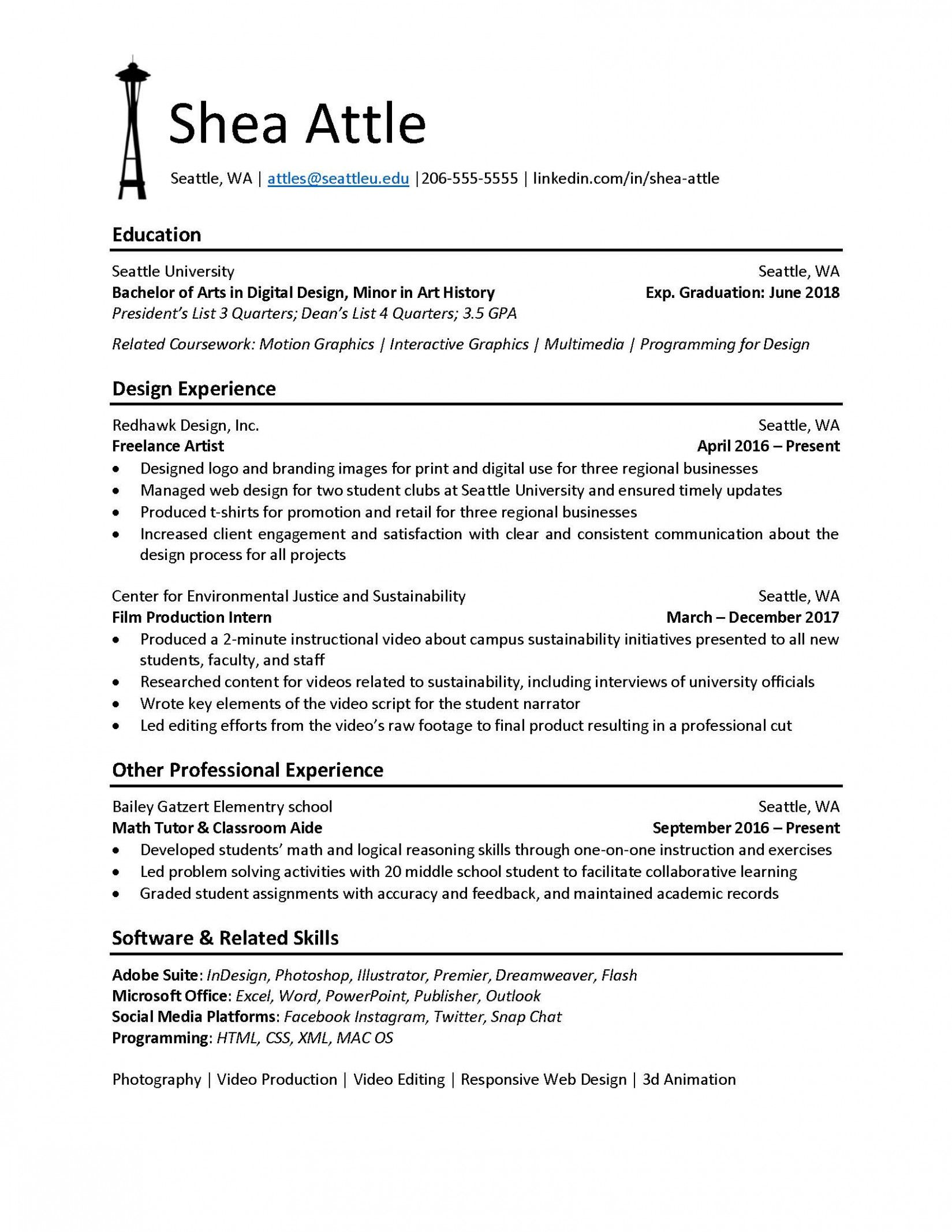 Name of Resume Examples 2019 Name of Resume File 2020