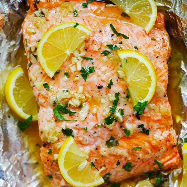 Honey Garlic Salmon- One of the Best Salmon Recipes - Rasa Malaysia