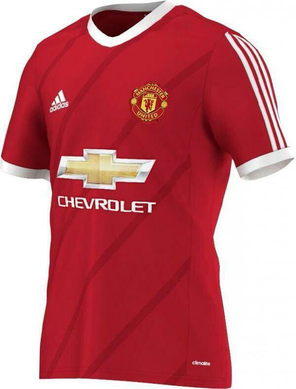 0cf01270e Manchester United 15 16 Home Kit Adidas Yr 1