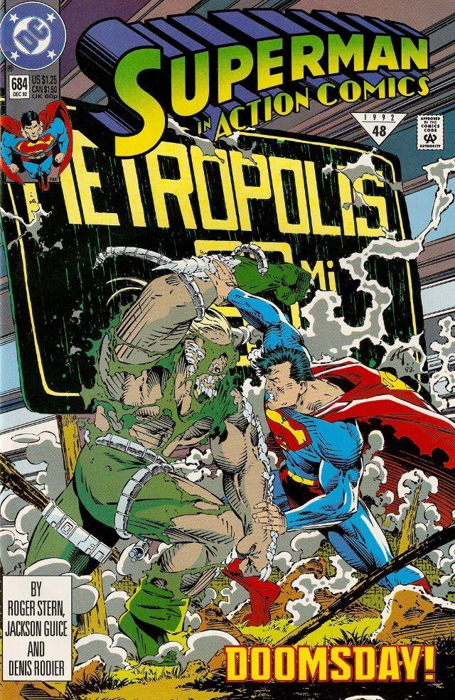 Superman In Action Comics No 684 11 30 1992 Comics Dc Comics Comic