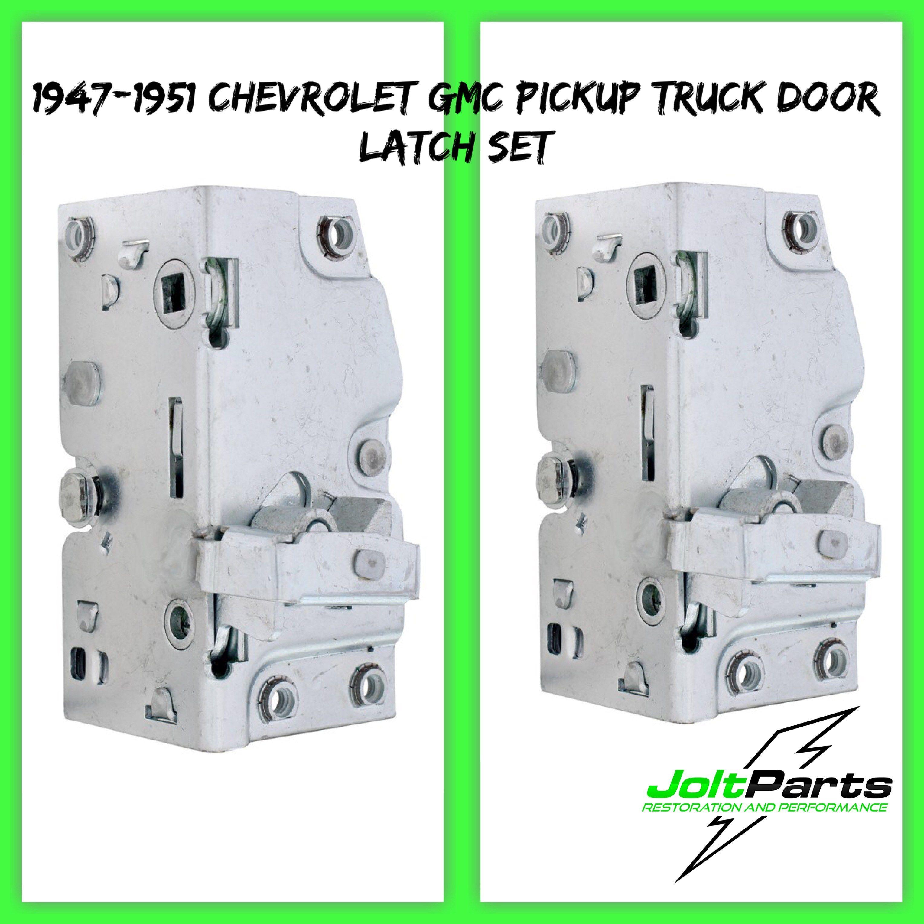 United Pacific 110186 87 1947 1951 Chevy Gmc Pickup Truck Door Latch Set Gmc Pickup Trucks Pickup Trucks Gmc Pickup