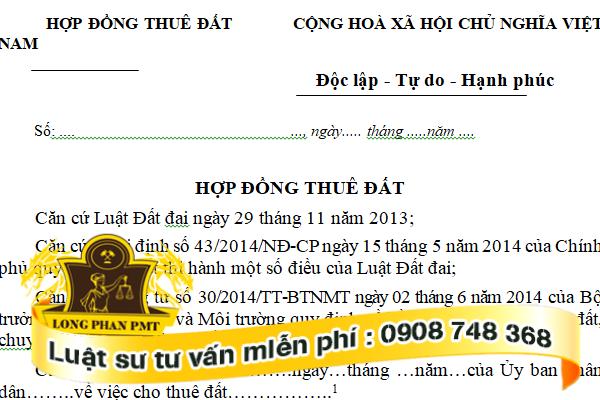 Thủ Tục Khởi Kiện Hủy Hợp đồng Thue đất Do Ben Thue Khong Trả Tiền Thue được Them Từ Google Docs Luatlongphan Kiến